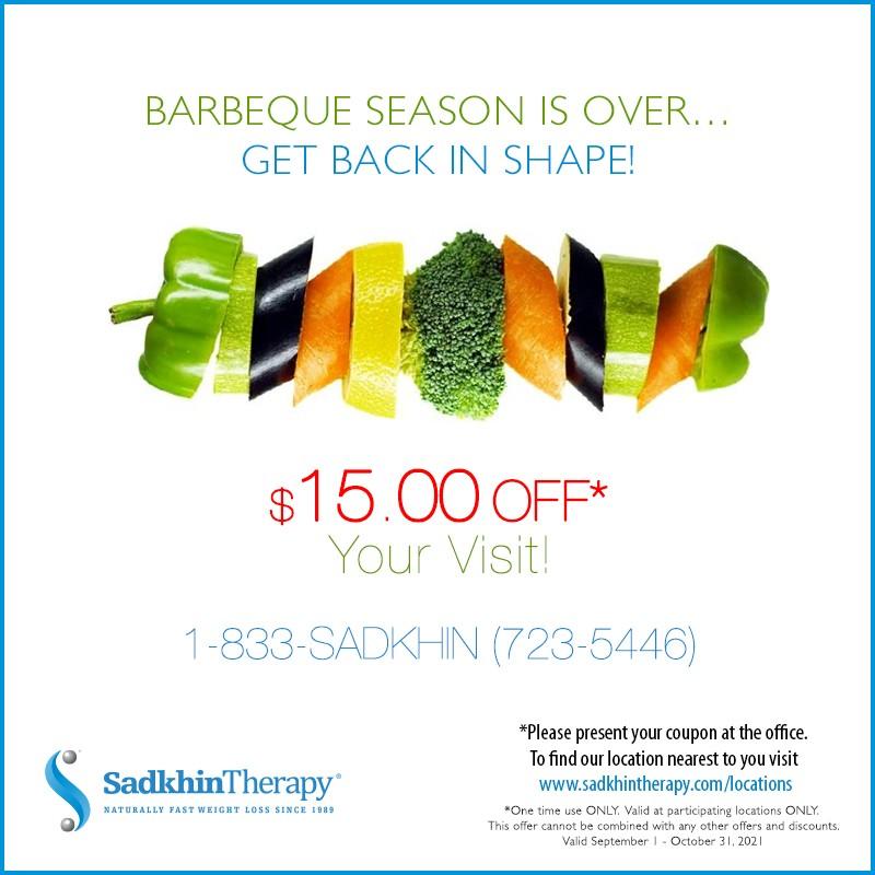 BBQ season is over $15.00